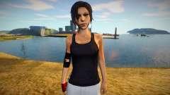 Lara Croft (Tomb Raider) suit of Mirrors Edge para GTA San Andreas