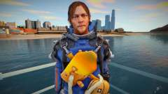 Sam blue suit [Norman Reedus] (from Death Strand para GTA San Andreas