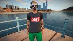 Dude 1 from DLC Lowriders 2015 GTA Online para GTA San Andreas