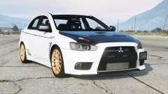 Mitsubishi Lancer Evolution X 2015〡add-on v2.0 para GTA 5