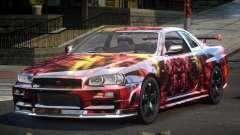 Nissan Skyline R34 PSI-U S6 para GTA 4