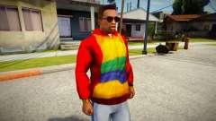 Playboy X Hoodie para GTA San Andreas
