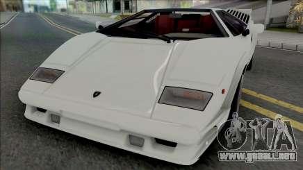 Lamborghini Countach LP5000QV & 25th Anniversary para GTA San Andreas