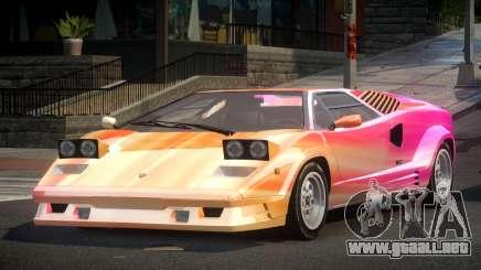 Lamborghini Countach GST-S S6 para GTA 4