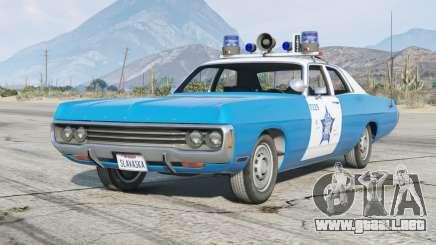 Dodge Polara (DE) 1971〡Chicago Police〡add-on [ELS] para GTA 5