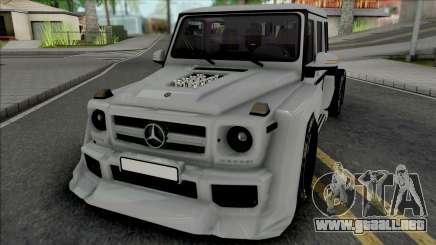 Mercedes-Benz G63 AMG 6x6 [IVF VehFuncs ADB] para GTA San Andreas