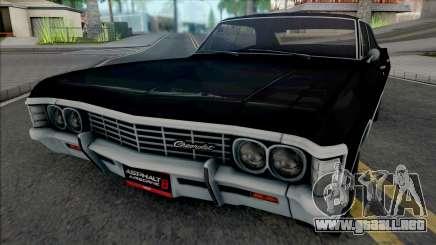 Chevrolet Impala 1967 (Asphalt 8) para GTA San Andreas