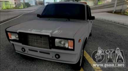 Vaz 2107 Estilo Taxi para GTA San Andreas