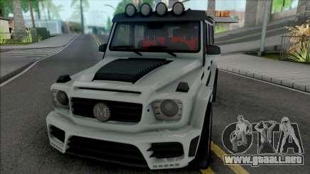 Mercedes-AMG G63 Mansory Gronos para GTA San Andreas