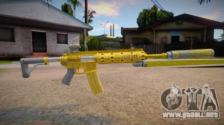Carabine Rifle Luxe from Grand Theft Auto V para GTA San Andreas