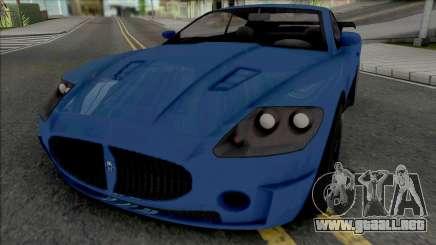 Ocelot F620 (SA Plate) para GTA San Andreas