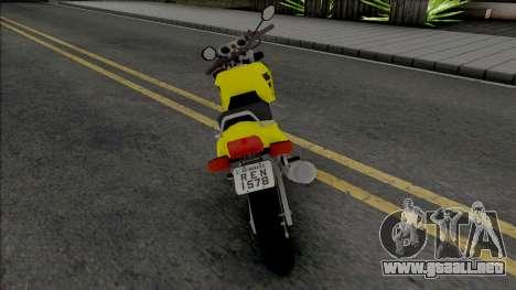 New Yellow NRG-500 para GTA San Andreas