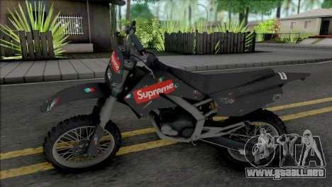 Sanchez Supreme para GTA San Andreas