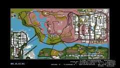 Nuevo mapa del juego para GTA San Andreas