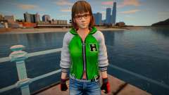 Dead Or Alive 5 - Hitomi (Costume 2) para GTA San Andreas