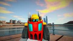 Super Robot Taisen Getter Robo Team 2 para GTA San Andreas