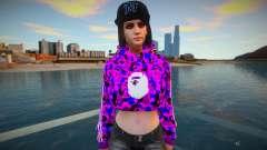 GTA Online Female Assistant V3 Diva Outfit para GTA San Andreas