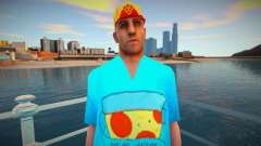 Wmypizz en una camiseta para GTA San Andreas