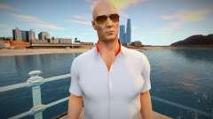 [Hitman 2] Agent 47 - Italian Suit para GTA San Andreas