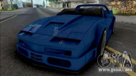 Pontiac Firebird Roadster Concept Custom para GTA San Andreas