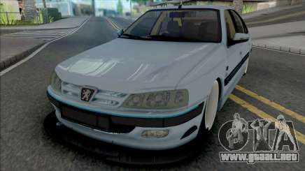 Peugeot Pars Sport (BBS Rims) para GTA San Andreas