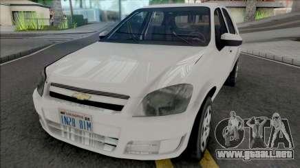 Chevrolet Celta 2010 [VehFuncs] para GTA San Andreas