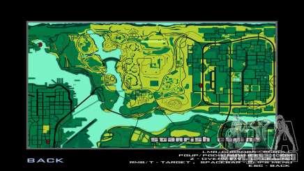 MAPA en el estilo de MTN DEW para GTA San Andreas