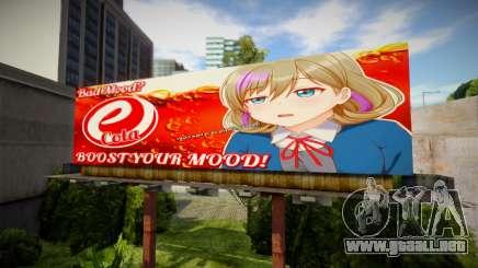 Anime Billboard set 1 (6 in 1) para GTA San Andreas