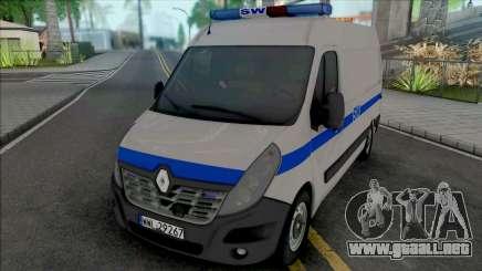 Renault Master II Prison Service para GTA San Andreas