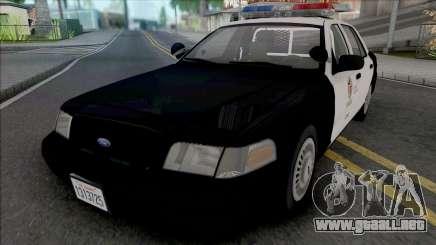 Ford Crown Victoria 1999 CVPI LAPD v2 para GTA San Andreas