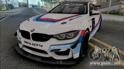 BMW M4 GT4 para GTA San Andreas