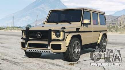 Mercedes-Benz G 65 AMG (W463) 2012〡add-on para GTA 5
