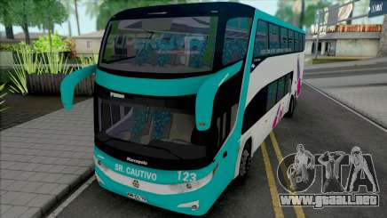 Marcopolo Paradiso 1800 DD G7 Scania SuperCiva para GTA San Andreas