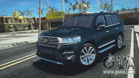 Toyota Land Cruiser 200 HQ para GTA San Andreas