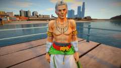 Dead Or Alive 5 - Brad Wong (Costume 5) 2 para GTA San Andreas
