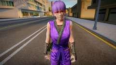 Dead Or Alive 5 - Ayane (Costume 2) 7 para GTA San Andreas