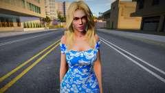 Rachel Casual (good skin) para GTA San Andreas