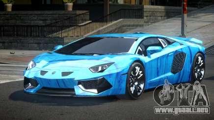 Lamborghini Aventador PSI Qz S6 para GTA 4