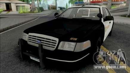 Ford Crown Victoria 1998 CVPI LACSD para GTA San Andreas