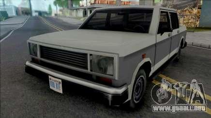 Bobcat XL (Double Cab) para GTA San Andreas