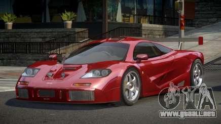 McLaren F1 GST-U para GTA 4