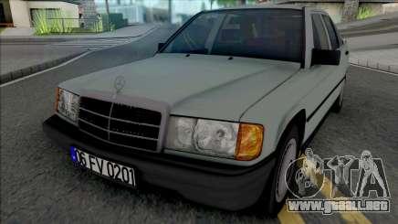 Mercedes-Benz 190E W201 1984 para GTA San Andreas