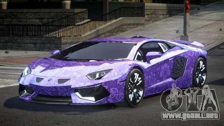 Lamborghini Aventador PSI Qz S3 para GTA 4