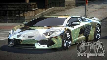 Lamborghini Aventador PSI Qz S4 para GTA 4