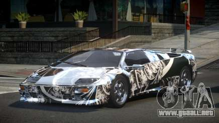 Lamborghini Diablo U-Style S10 para GTA 4