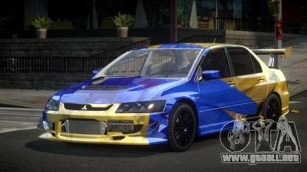 Mitsubishi Lancer Evolution VIII PSI S7 para GTA 4
