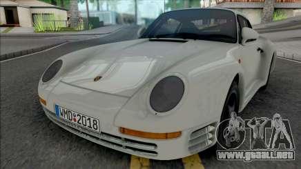 Porsche 959 1987 [HQ] para GTA San Andreas