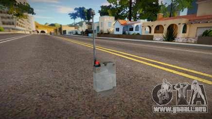 Remaster Remote Detonator para GTA San Andreas