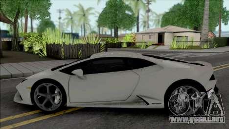 Lamborghini Huracan Evo Coupe 2020 para GTA San Andreas
