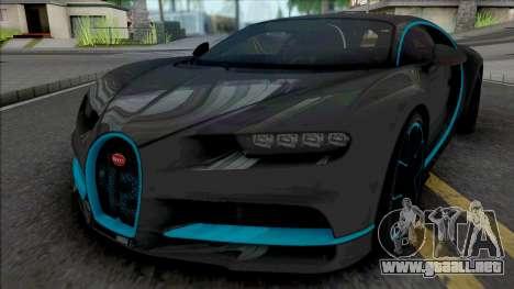 Bugatti Chiron 42 Seconds 2016 para GTA San Andreas